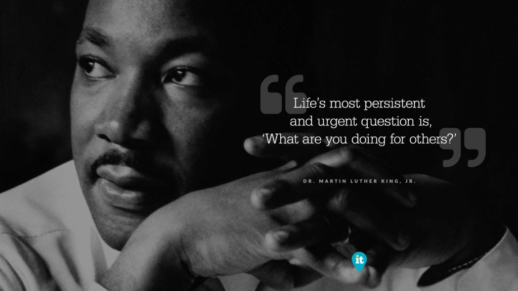 February 2018: Dr. Martin Luther King, Jr.