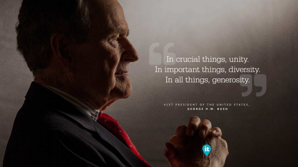December 2018: George H.W. Bush